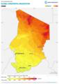 Chad GHI Solar-resource-map GlobalSolarAtlas World-Bank-Esmap-Solargis.png