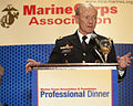 Chairman of the Joint Chiefs of Staff Army Gen. Martin E. Dempsey speaks at the Marine Corps Association and Foundation professional dinner at the Crystal Gateway Marriott in Arlington, Va., Sept 120906-A-TT930-011.jpg