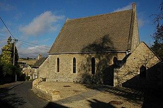 Stonesfield - Wesleyan chapel built in 1867