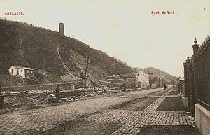Coal mine of Hasard de Cheratte - Image: Charbonnage démolit cheratte