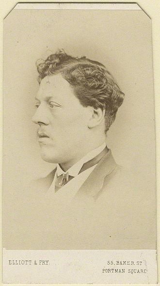 Charles Augustus Howell - Image: Charles Augustus Howell by Elliott & Fry 1860s