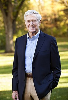Charles David Koch We Know Who You Are >> Charles Koch Wikipedia