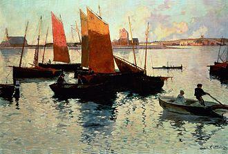 Charles Cottet - 1892 Rayons du soir