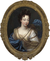Charlotte Aglaé d'Orléans future Duchess of Modena (wife of Francesco III d'Este) by Pierre Gobert.png