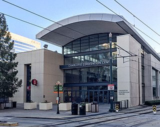 Charlotte Convention Center Convention center in Charlotte, North Carolina