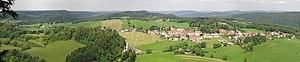 Chaux-des-Crotenay - Panorama of Chaux-des-crotenay