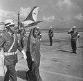 Chegada ao Rio de Janeiro de Indira Priyadarshini Gandhi, primeira ministra da Índia..tif