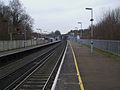 Chelsfield station look north.JPG