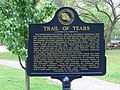 Cherokee Heritage Center - Trail of Tears Schild 1.jpg