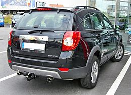 Chevrolet Captiva 20090504 rear.jpg