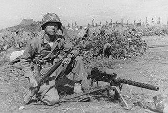Kurt Chew-Een Lee - Kurt Chew-Een Lee as a marine lieutenant in Korea.
