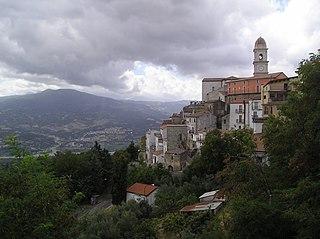 Chiaromonte Comune in Basilicata, Italy
