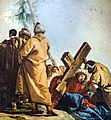 Chiesa di San Polo (Venice) - VIA CRUCIS VII - Jesus falls the second time by Giandomenico Tiepolo.jpg