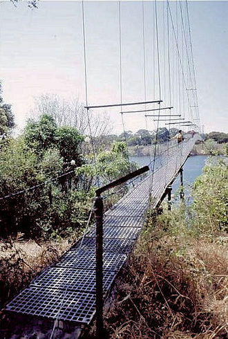 Chinyingi - The Chinyingi suspension bridge
