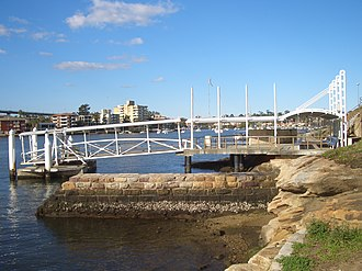 Parramatta River ferry services - Image: Chiswick Ferry Wharf 2