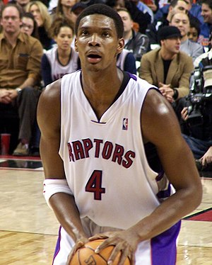 2003 NBA draft - Chris Bosh, the 4th pick of the Toronto Raptors