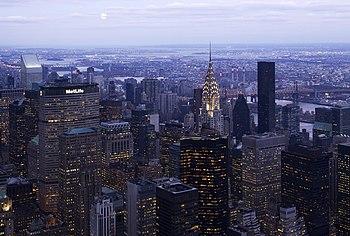 English: The eastern part of Midtown Manhattan...