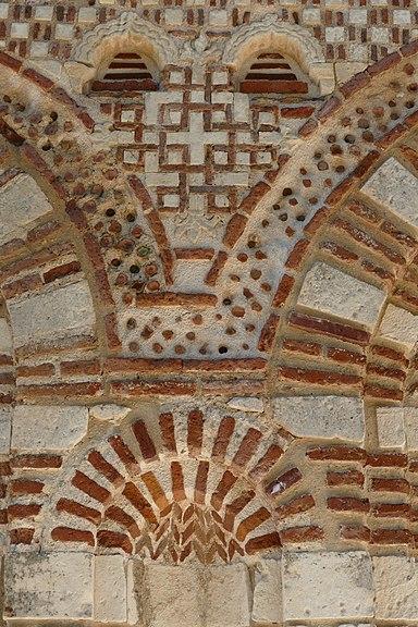 Church of Saint Stephen in Nesebar, outer walls 05