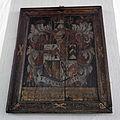 Church of St Mary, Tilty Essex England - framed coat of arms.jpg
