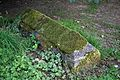 Church of St Peter and St Paul Upper Hardres Kent England - moss covered tomb.jpg