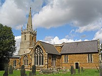Church of St Thomas of Canterbury, Frisby on the Wreake - geograph.org.uk - 523734.jpg