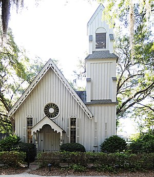 National Register of Historic Places listings in Jasper County, South Carolina - Image: Church of the Holy Trinity Jasper County