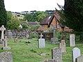 Churchyard, St Mary's Church, Iwerne Minster - geograph.org.uk - 908265.jpg