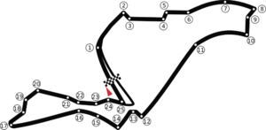 European Grand Prix - Valencia Street Circuit, used from 2008 to 2012
