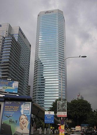 Citibank Tower - Menara Citibank in Kuala Lumpur, Malaysia