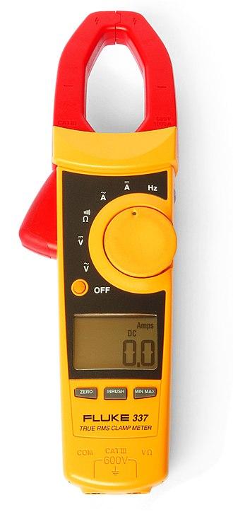 Multimeter - A clamp meter