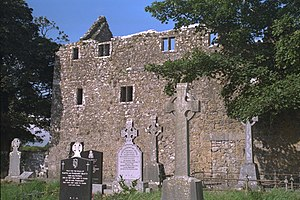Claregalway Friary Living Quarters 1996 08 27
