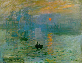 Impression, Sunrise (Impression, soleil levant) (1872/1873).