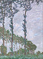 Claude Monet - Wind Effect, Series of The Poplars - Google Art Project.jpg