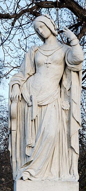 Antoine-Augustin Préault - Clémence Isaure by Préault, Jardin du Luxembourg
