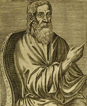 English: Clement of Alexandria, from book 1, f...
