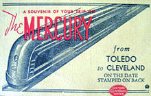1936 : First Passenger Train Begins Service Between Detroit and Cleveland