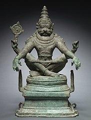 Yoga Narashimha, Vishnu in his Man-Lion Avatar