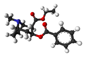 Cocaethylene - Image: Cocaethylene 3D balls