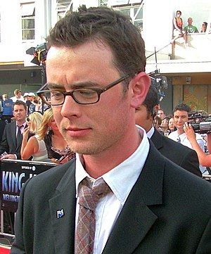 Colin Hanks at the premiere of Peter Jackson's...