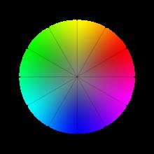 Disque chromatique - Les couleurs du vert ...