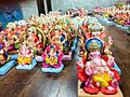 Colorful Images of Lord Ganesha at a Ganesh Chaturthi special shop.jpg