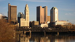 Skyline of Columbus, Ohio