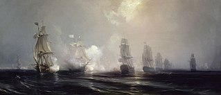 Naval battles of the American Revolutionary War