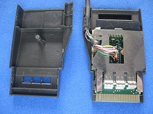 Commodore 1551 - Adapter interior