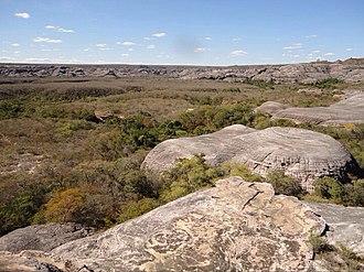 Serra das Confusões National Park - Image: Confusões