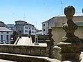 Conjunto Histórico de la Ciudad de Lugo, subida al muro romano.jpg