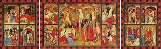 Bad Wildungen - Altarpiece of Konrad von Soest in the Evangelical Church