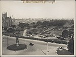 Construction of underground railway at Hyde Park, 1922 (8282715891).jpg