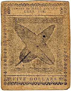 Continental Currency $5 banknote reverse (September 26, 1778).jpg