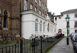 Colleges of the University of London - Image: Convent of the Assumption, Kensington Square, London W8 geograph.org.uk 1588014